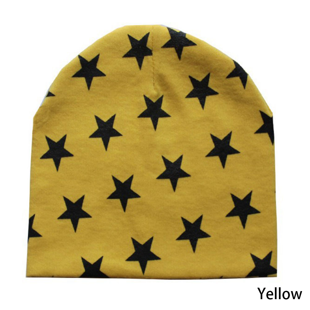10 Colors Baby Girl Boy Hat Bebe Newborn Little Star Beanies Cap Headwear