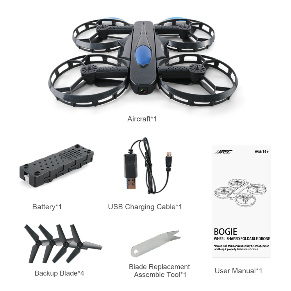 JJRC H45 BOGIE Foldable RC Drone Mini Selfie Quadcopter With Wifi FPV 720P Camera