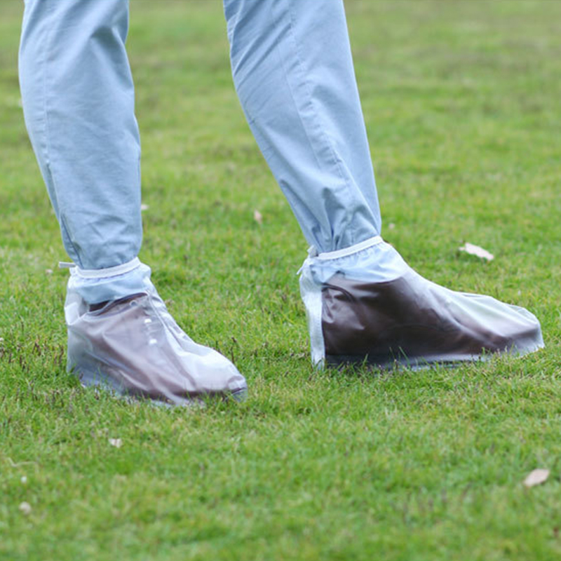 Man Shoe Waterproof Galoshes Boots Eco-Friendly Slippery Wear-resisting Rain