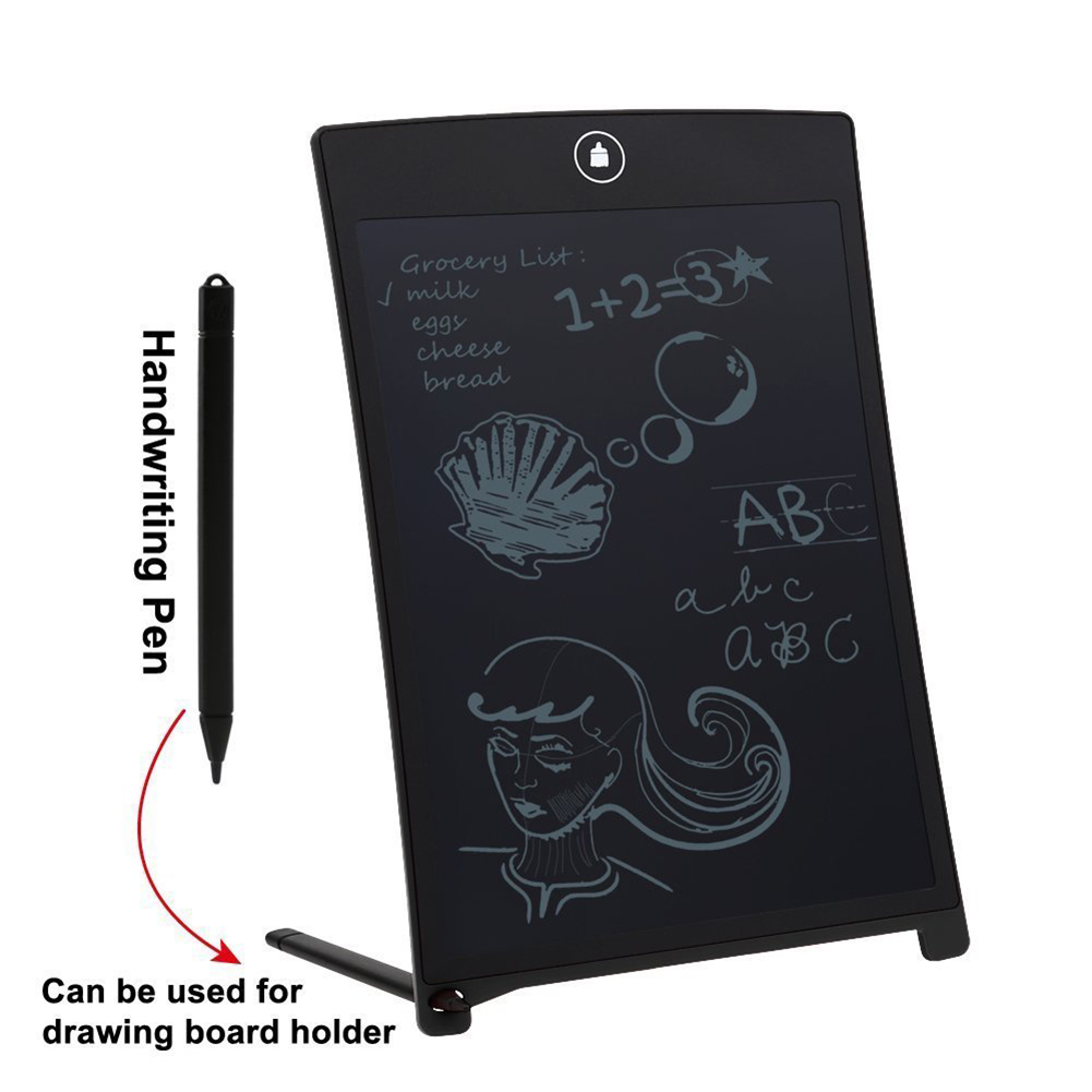 LCD Digital Writing Pad Tablet Electronic Drawing Graphics Board Notepad 8.5""