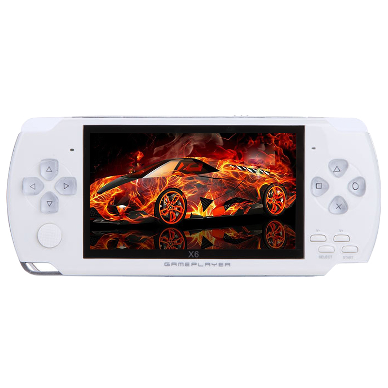 Mini Handheld Game Console Portable 4.3'' 8GB 32Bit Built-in 300 Games Video Player