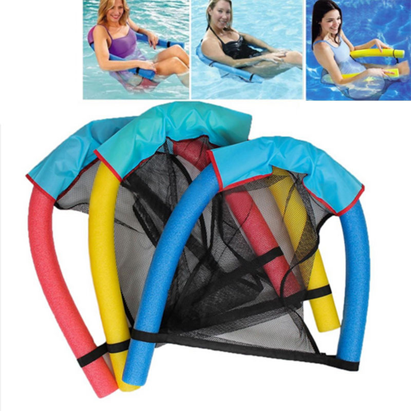 Swimming Pool Floating Tubes Upthrust Noodle Chair Swimming Seat Bed Buoyancy Stick