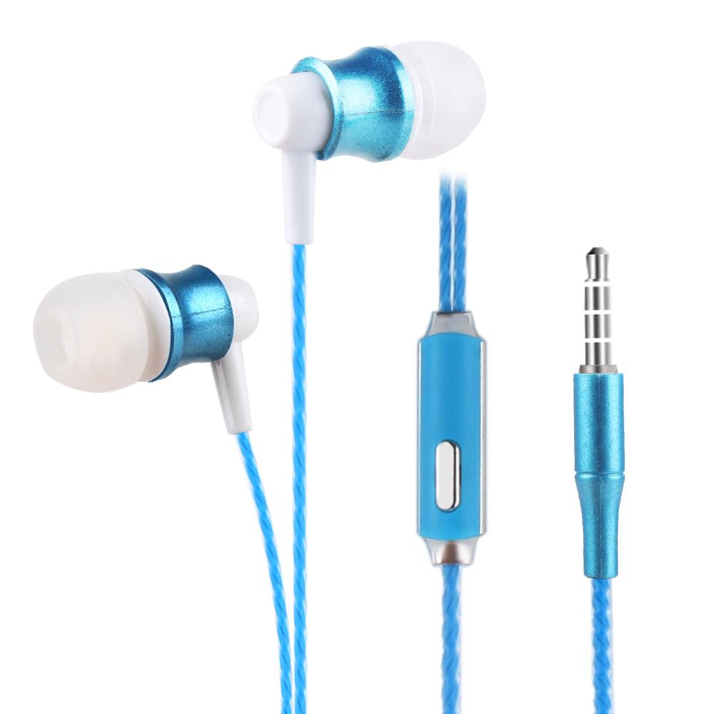 3.5mm In-Ear Stereo Earbuds Earphone Headset Headphone For Smartphone IPAD MP3 MP4