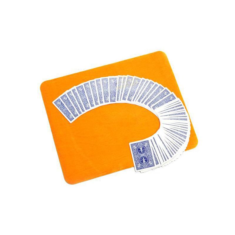 Magic Close-up Prop Toys Cards playing Mat Random Magician Trick Toy