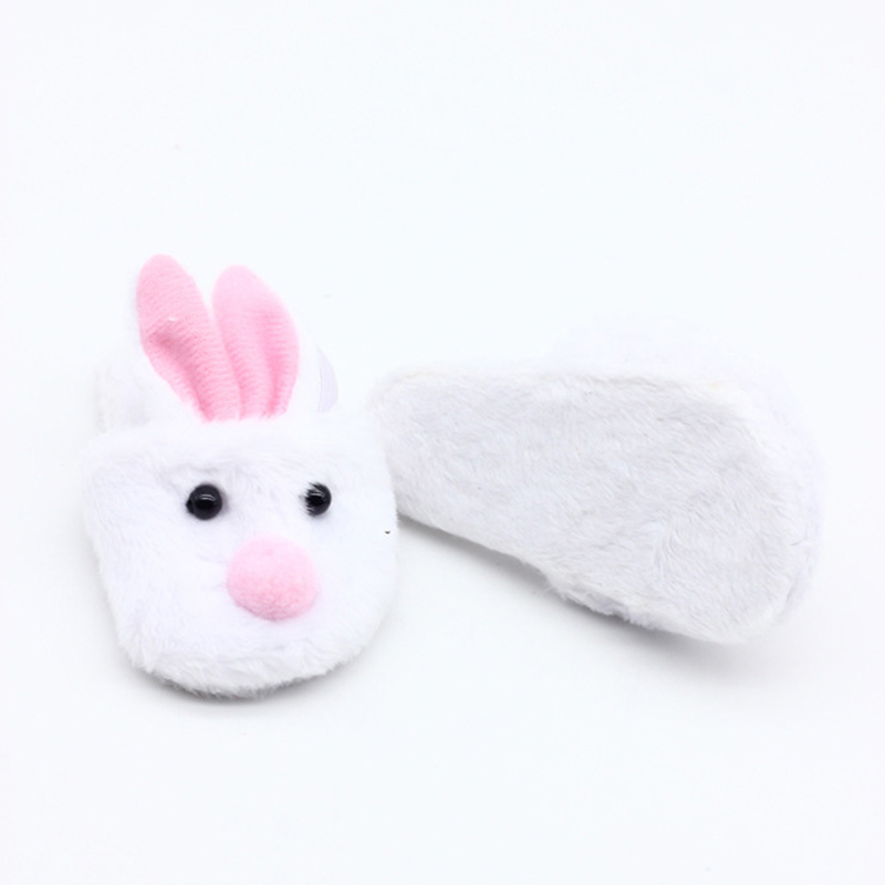 1Pair Cute Rabbit Doll Shoes for 18inch Doll Slipper Kids Fits Toy
