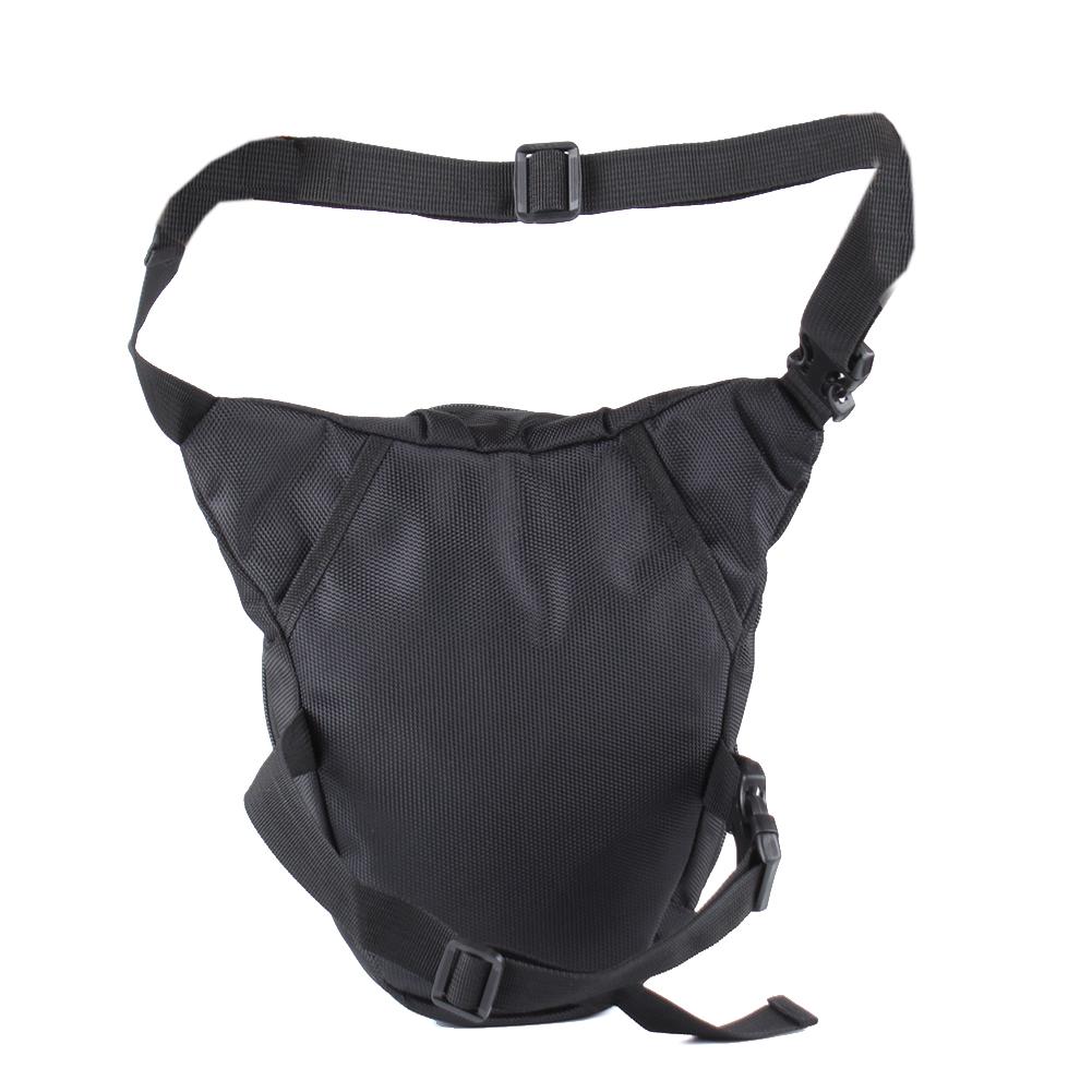 Bag Leg Drop Motorcycle Waist Pack Men Thigh Canvas Belt Outdoor Bike Bag