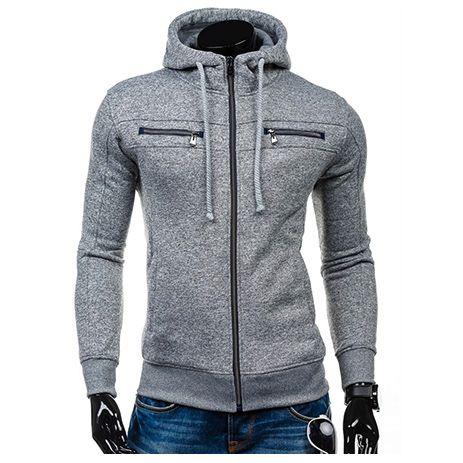 Men Hoodies Sweater Coat Fashion Student sweatshirts Sweatshirt Jacket