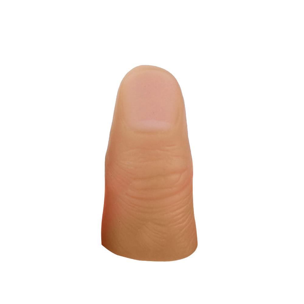 3Pcs Magic Tip Fingers Trick Rubber Close Up Vanish Appearing Props Toys