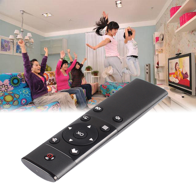 New FM4 2.4GHz Wireless Remote Control Air Mouse For Android Smart TV BOX PC