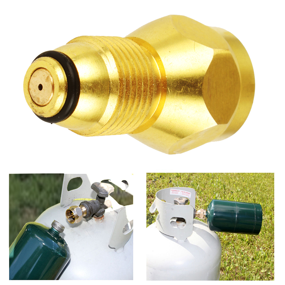 Propane Refill Adapter Lp Gas Cylinder Tank Coupler Heater Camping Hunting Sell