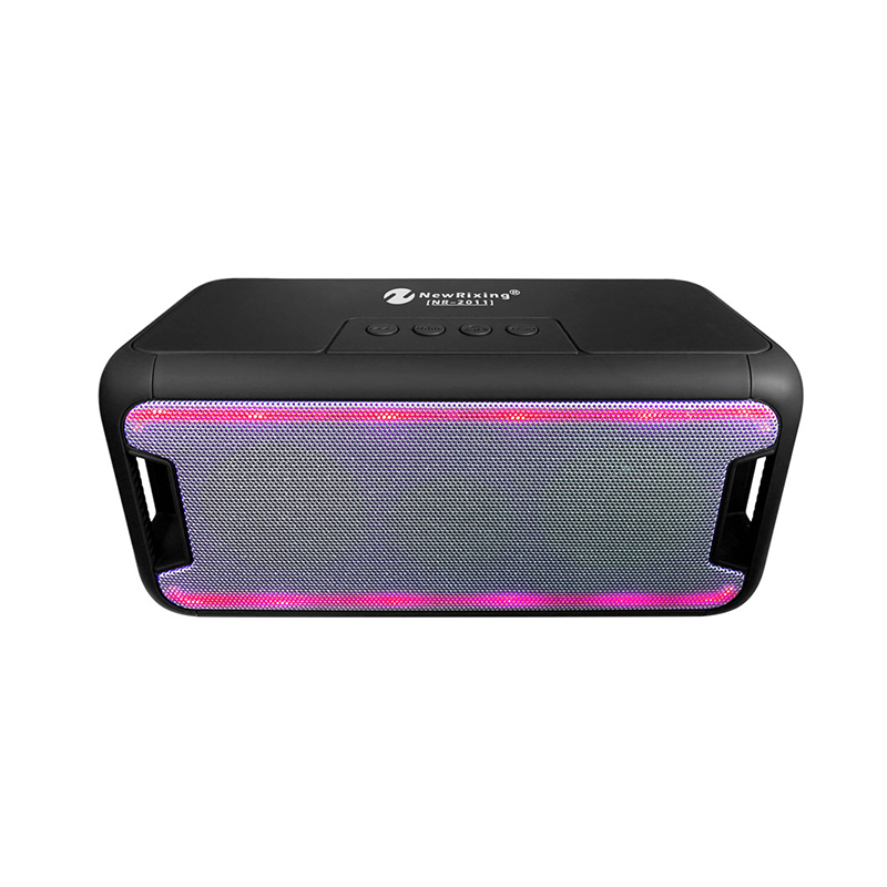 NR-2011 Wireless LED Bluetooth Speaker Subwoofer Support USB/TF Card/FM Radio