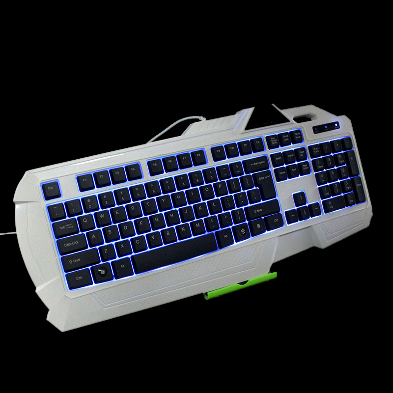 USB Wired LED Backlit Illuminated Gaming Game Keyboard for PC Laptop + USB Gaming Mouse Wired