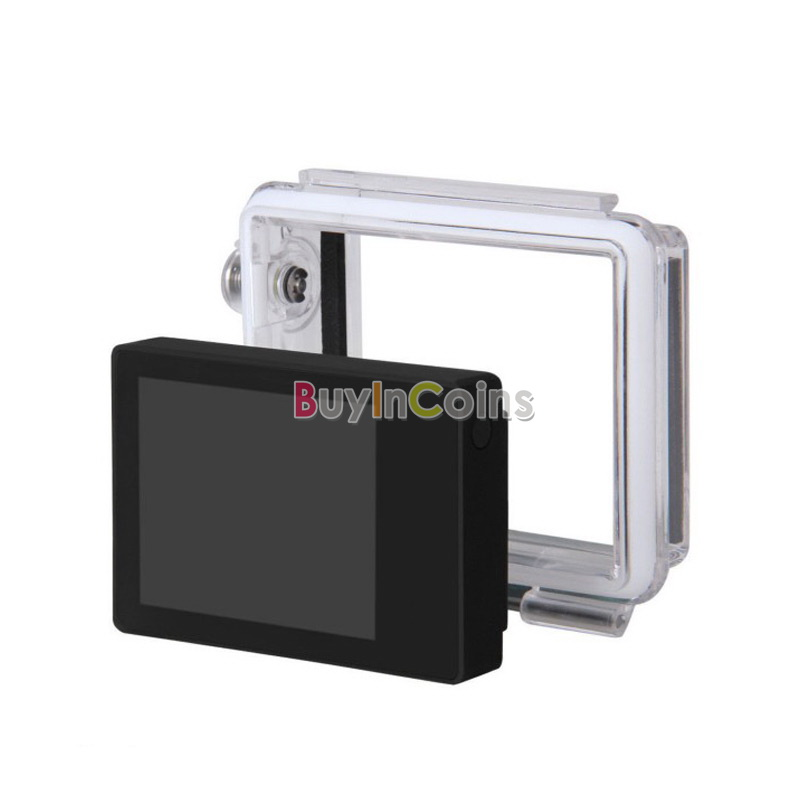 Bacpac External Display Viewer Monitor LCD Non-touch Screen For Gopro HD Hero 3+