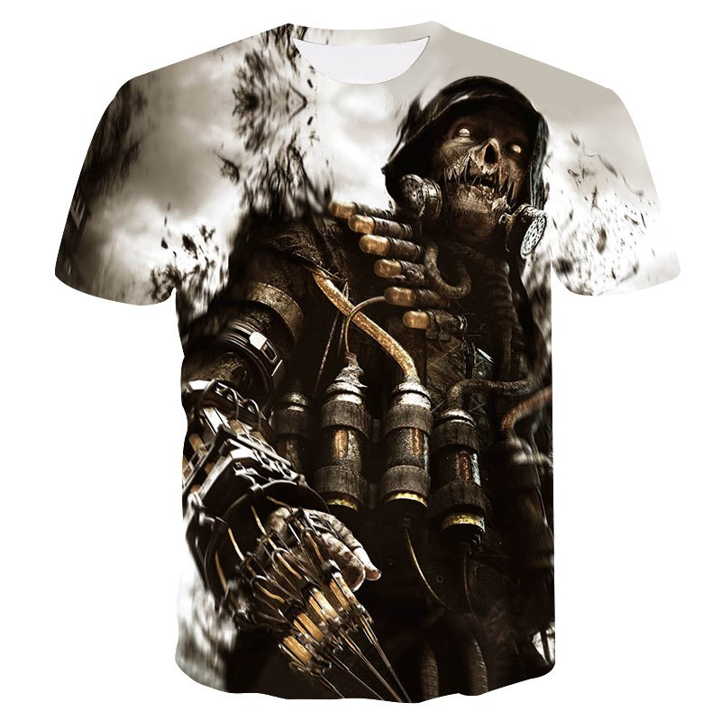 Summer sale Men's T-shirt 3D Print Cute Clown Hip-Hop T-Shirt 2018 Unisex European Fashion Style Plus Size Round neck Tops S-4XL