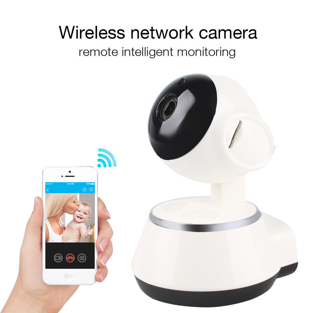 720P Wireless WiFi Pan Tilt Network Home CCTV IP Camera IR Night Vision Webcam