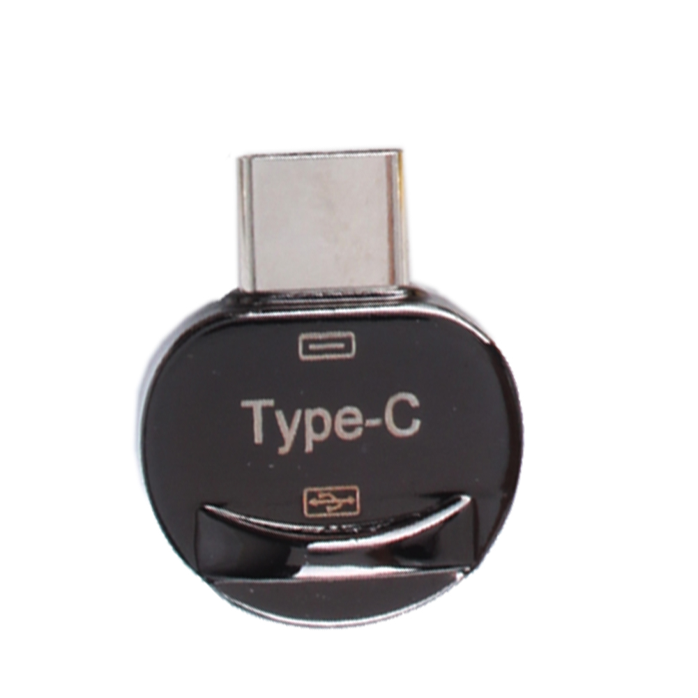 USB-C 3.1 Type C Male to USB 2.0 Female Adapter Apple Shape OTG Data Sync Charging For Samsung S8 Plus