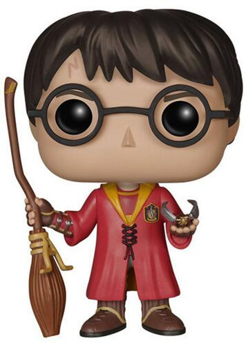Funko pop Harry Potter - Snape, Ron, Luna, Dobby Characters 10cm Vinyl Doll Action Figure Collection Model Toys
