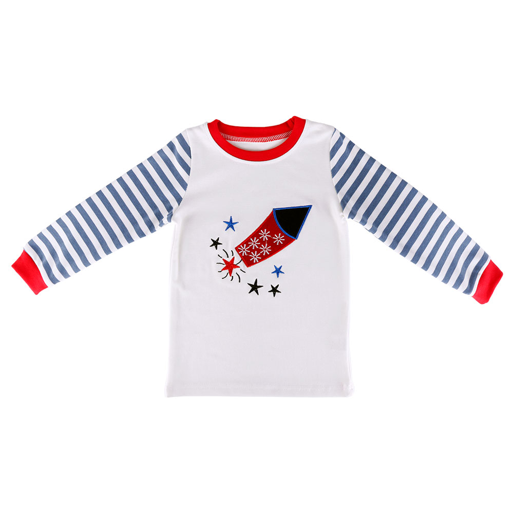 Baby Girl Fashion Clothes Casual Arrow Design Homewear Sleepwear Pyjamas Clothing Set