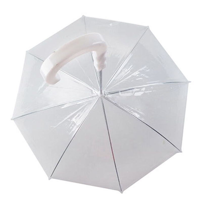 Durable Dog Walking Waterproof Built-in Leash Rain Sleet Snow Pet Umbrella