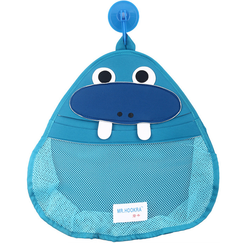 Baby Bath Storage Bag Cute Baby Shower Bath Net Bag Children Cartoon Storage Bag