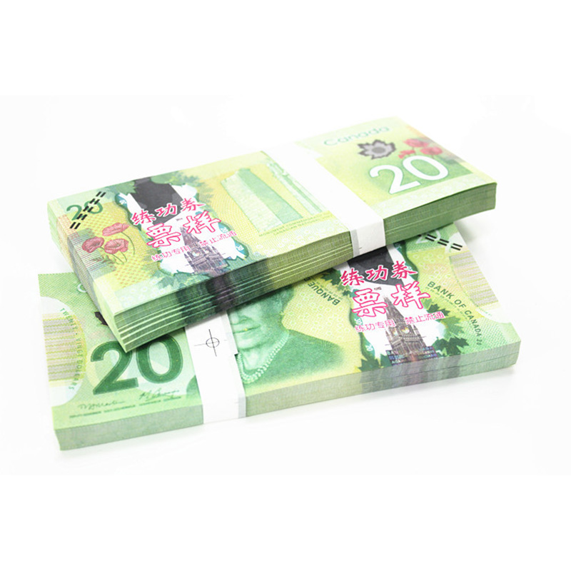 Canada Bank Note 20 C$ 100pcs Commemorate the Collection Banknotes Paper Money