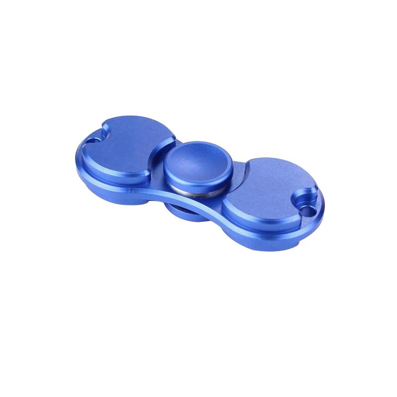 Mental Alloy Hand Spinner Fidget Toys Ceramic Ball Desk Focus EDC Black Siliver Rose Gold Color Hand Games