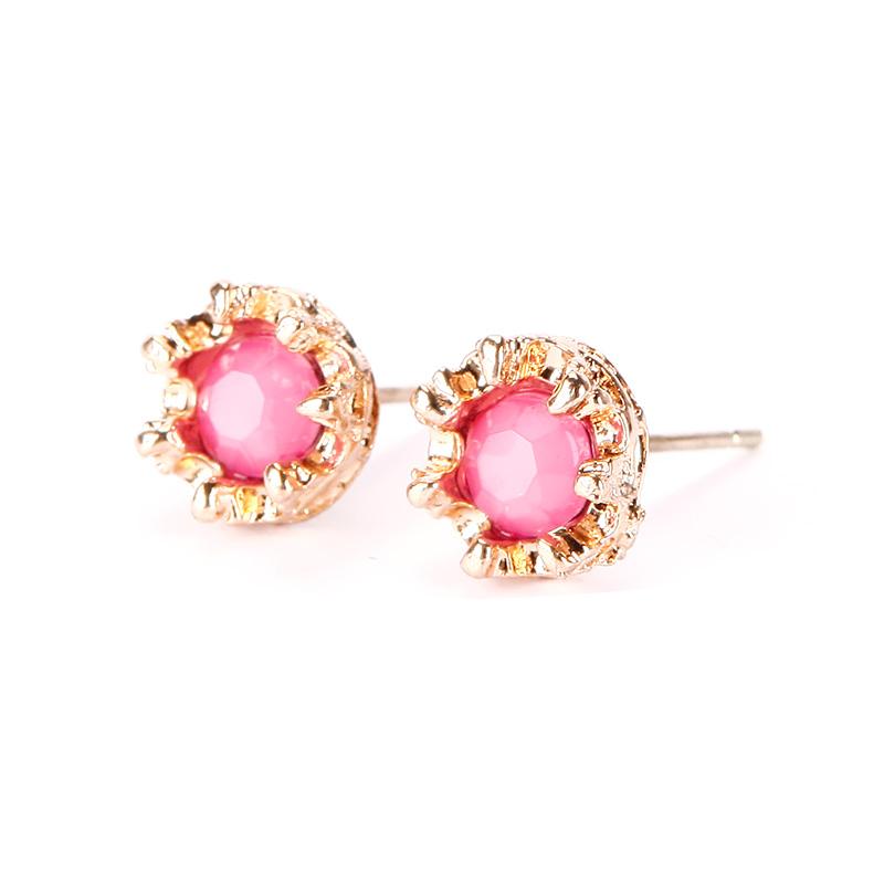 20 Pairs/Set Gold Silver Plate Ear Stud Crystal Rhinestones Flower Love Heart Pearl Earrings Women Jewelry Hot