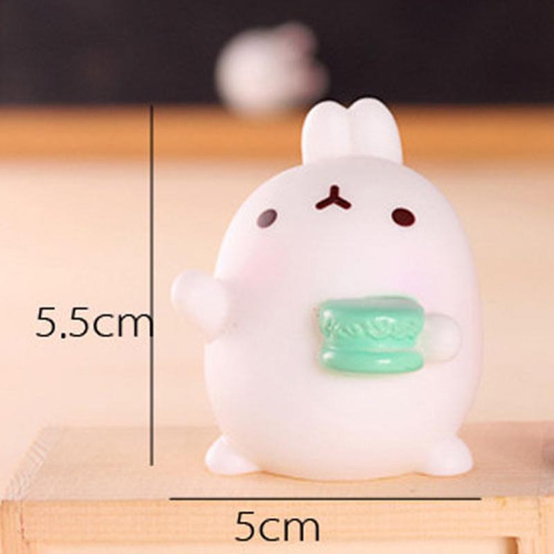 Cute Mochi Squishy Rabbit Squeeze Healing Fun Kids Kawaii Toy Stress Reliever
