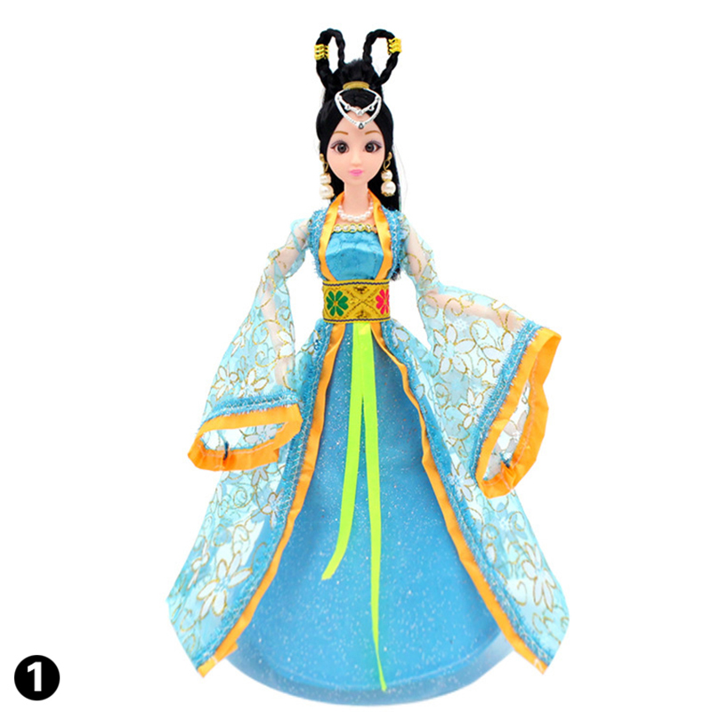 Traditional Chinese Costume Ancient Mythological Barbie Doll Clothes