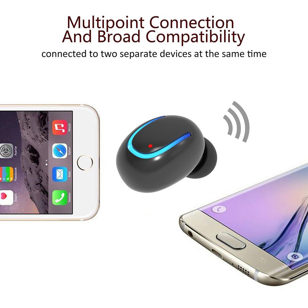 Q13 Mini Bluetooth Headset Wireless Earphones V4.1 In-ear Music Ear Buds Headset With Microphone