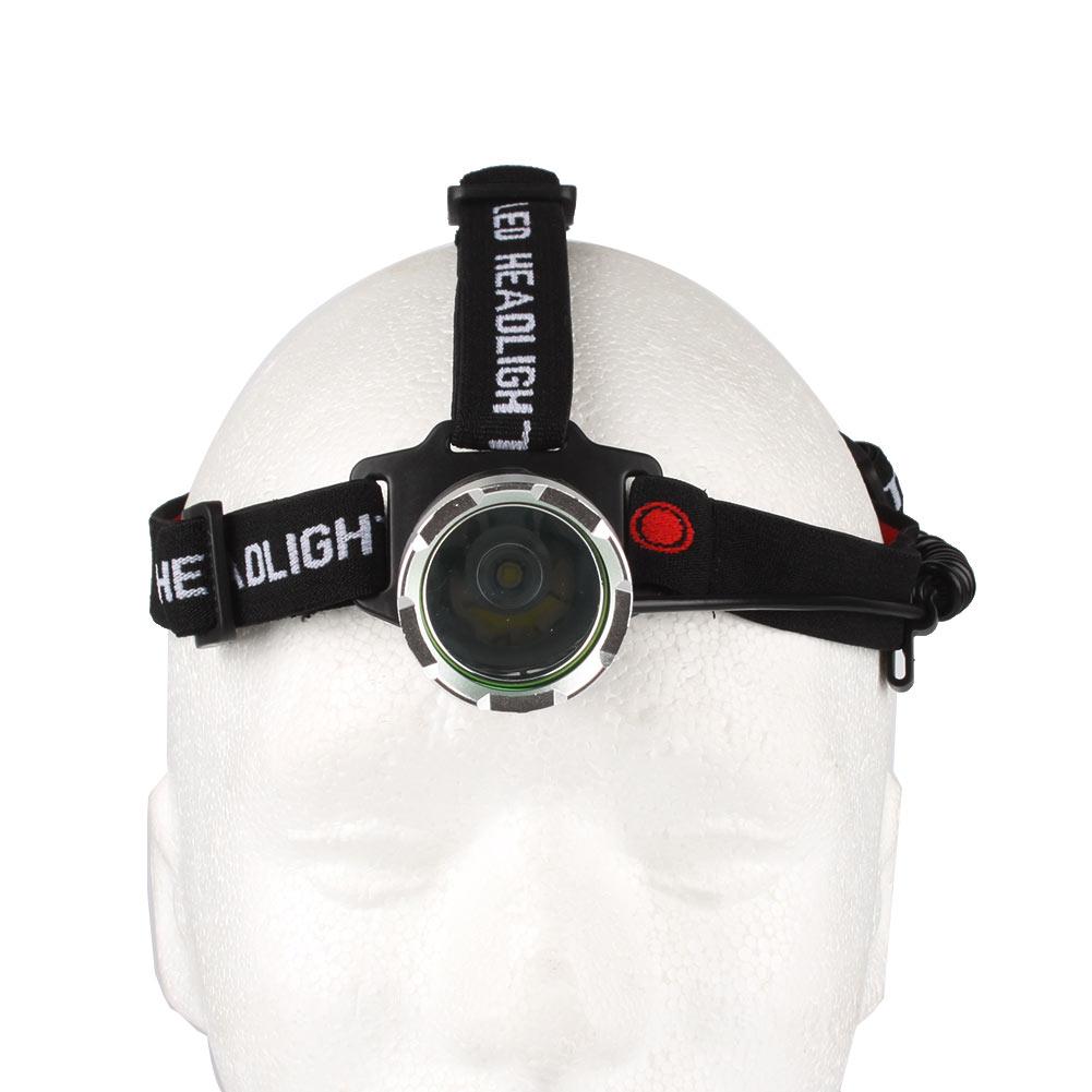 2000lm Waterproof CREE XM-L T6 3 Modes Brightness LED 18650 Headlamp Headlight Head Lamp Light for Outdoor Sport