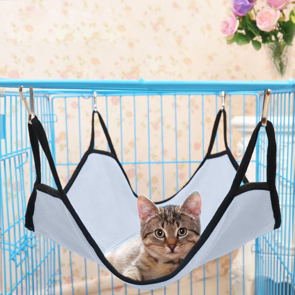 Pet Cat Dog Hammock Soft Bed Animal Hanging Pupply Comforter Ferret Cage House