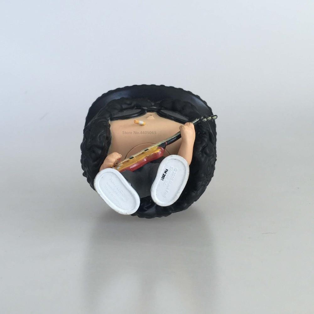 Original Secondhand imperfect Funko pop Guns N Roses Rocks: Slash Vinyl Action Figure Collectible Model Loose Toy Cheap No Box