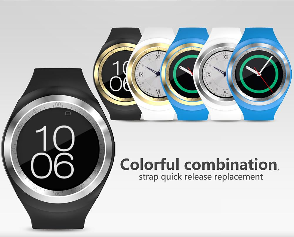 2017 New Wearable Devices Smart Watch Android IOS Connected