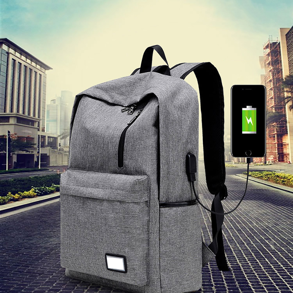 New Backpack External USB Charging Interface Adapter Charging Cable