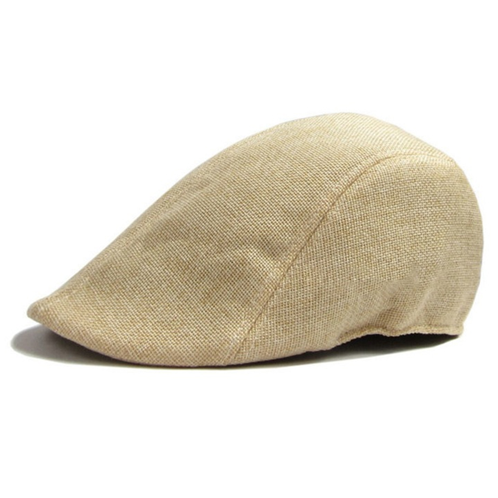 Herringbone Duckbill Ivy Hat Classic Wool Cap Golf Newsboy Fashion Golf Flat