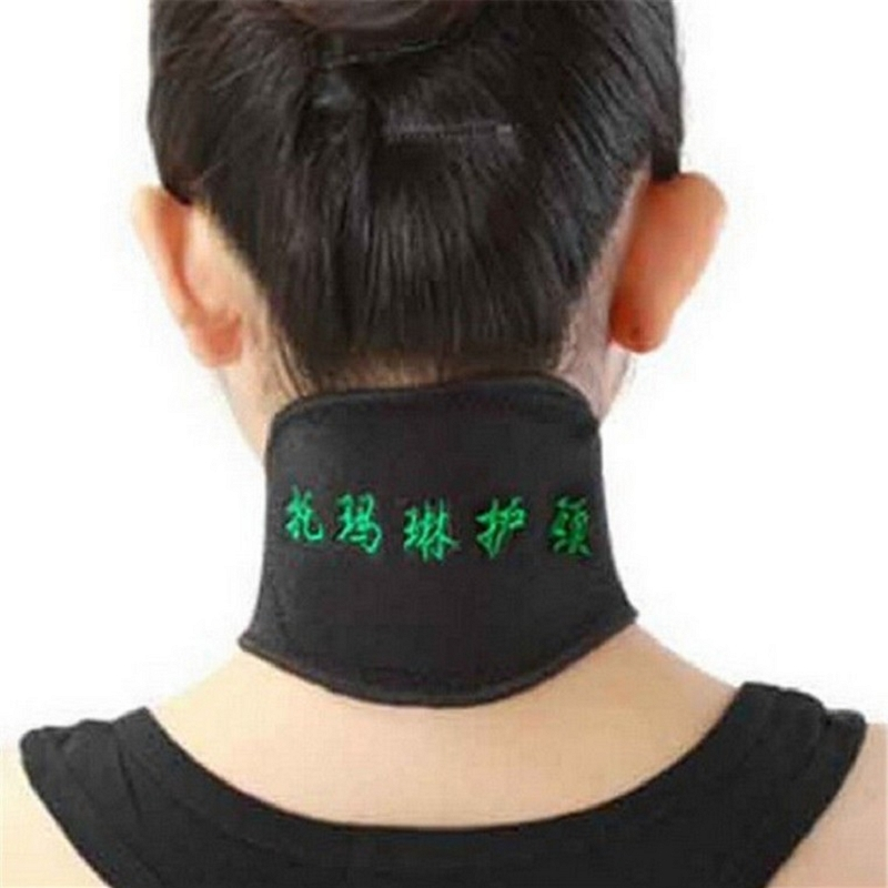 New Magnetic Therapy Neck Spontaneous Heating Headache Belt Neck Massager