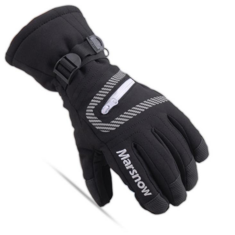 Children Winter Warm Sports Windproof Waterproof Ski Gloves Motorcycle Snowboard All Fingers