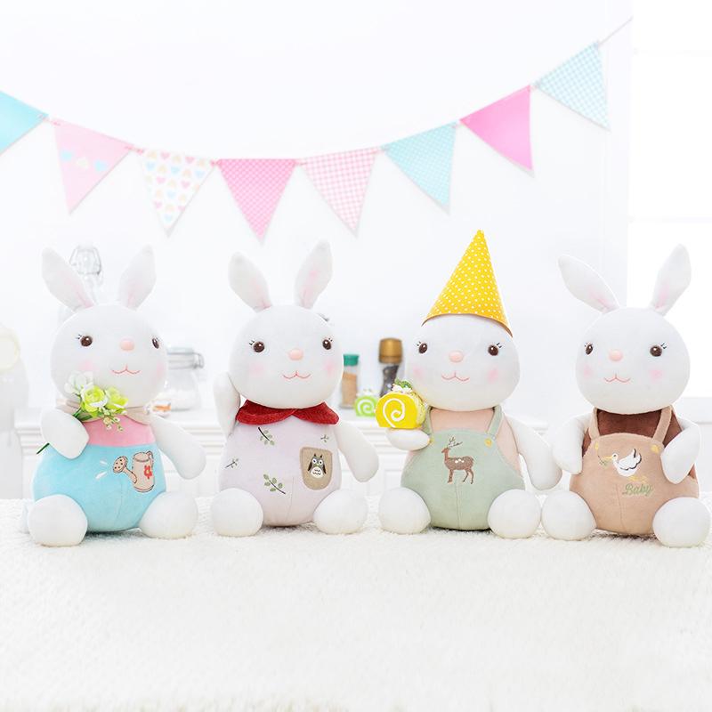New Metoo Tiramitu Stuffed Cute Bunny Rabbit Plush Doll Toy Baby Birthday Christmas Gift