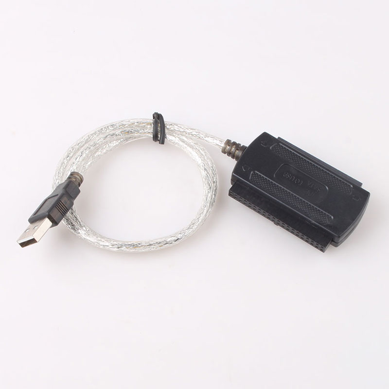 USB 2.0 to SATA IDE 2.5 3.5 Hard Drive Adapter Cable