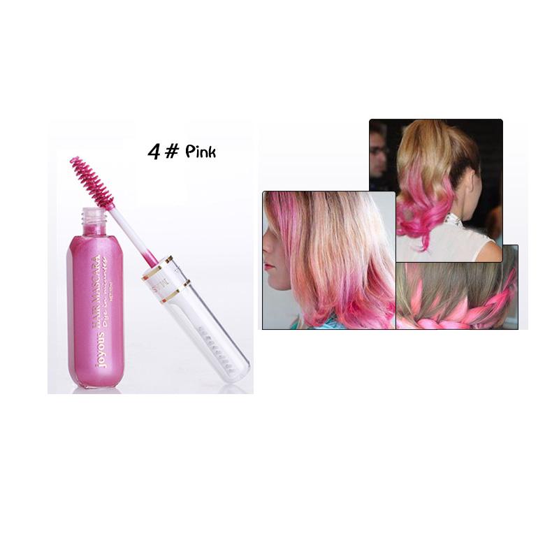 10ml One-time Color Hair Dye Cream Easy Temporary Non-toxic DIY Hair Mascara