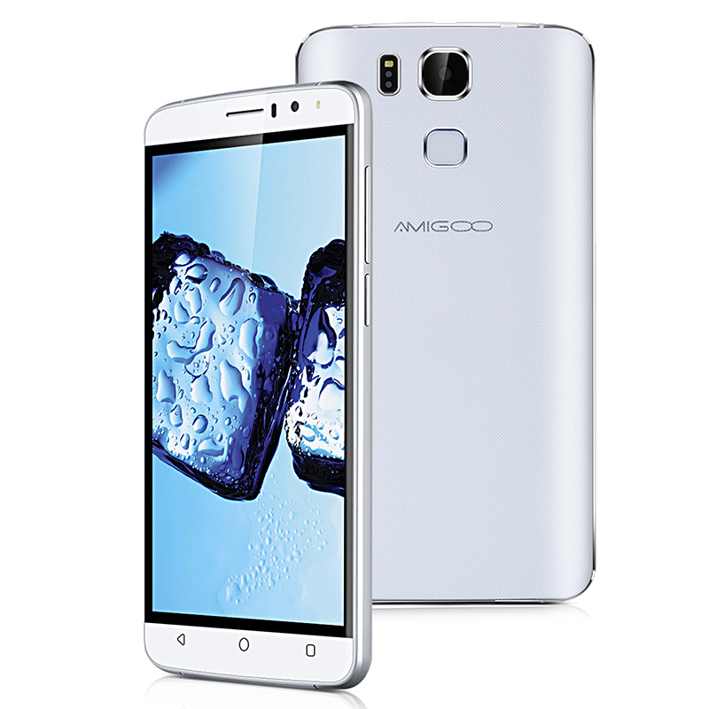 "6.0"" AMIGOO X10 HD MTK6580 Quad Core Unlocked 3G GSM Android Smartphone ROM 8GB Cellphone"