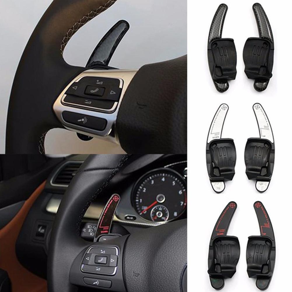 1Set 2Pcs Car Steering Wheel Shift Paddle Shifter For VW Golf