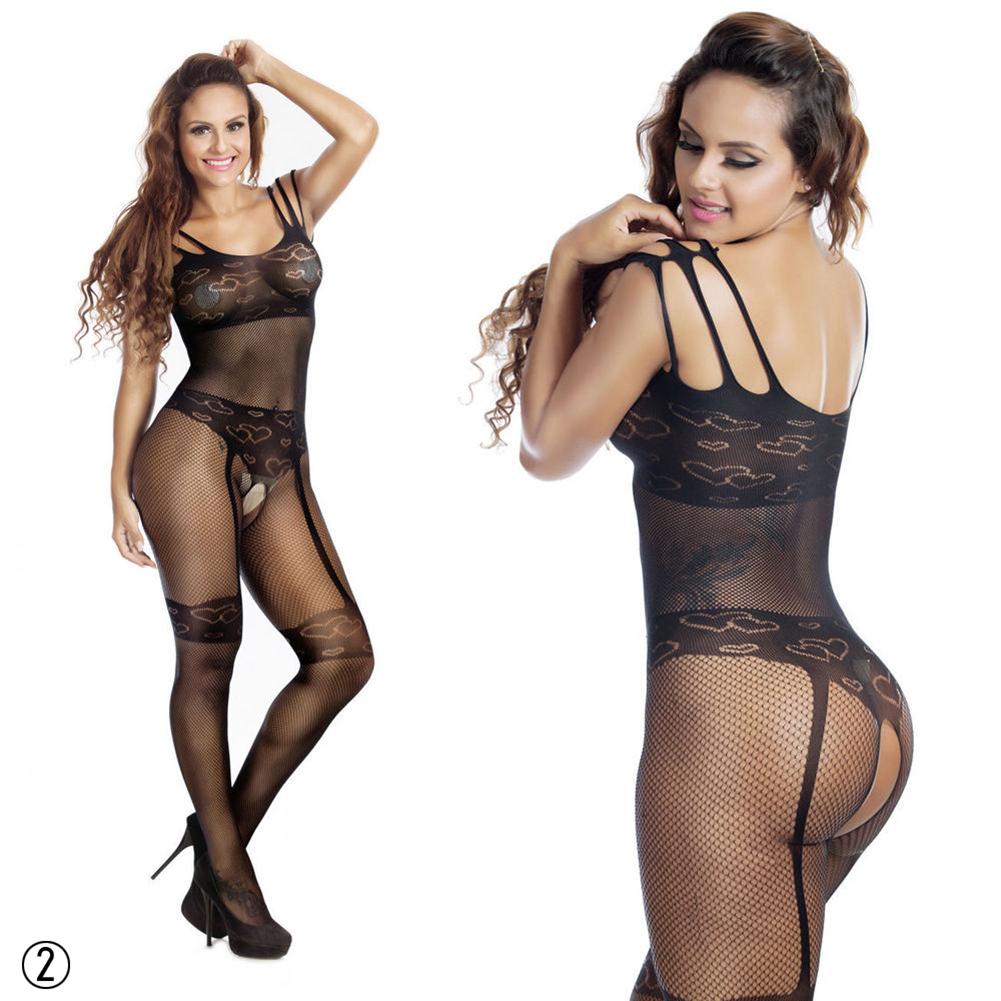 Black Sexy Lingerie Sleepwear Lace Women's G string Dress Underwear Nightwear