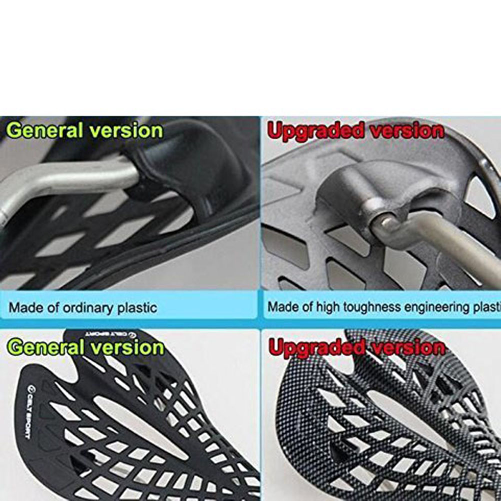 Ultra Light Mountain Road Bike Dead Fly Bicycle Saddle Cushion Spider Carbon Fiber Pattern