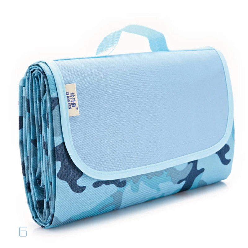 200*145cm Portable Folding Waterproof Picnic Mat Camping Dampproof Mat Beach Baby Climb Blanket