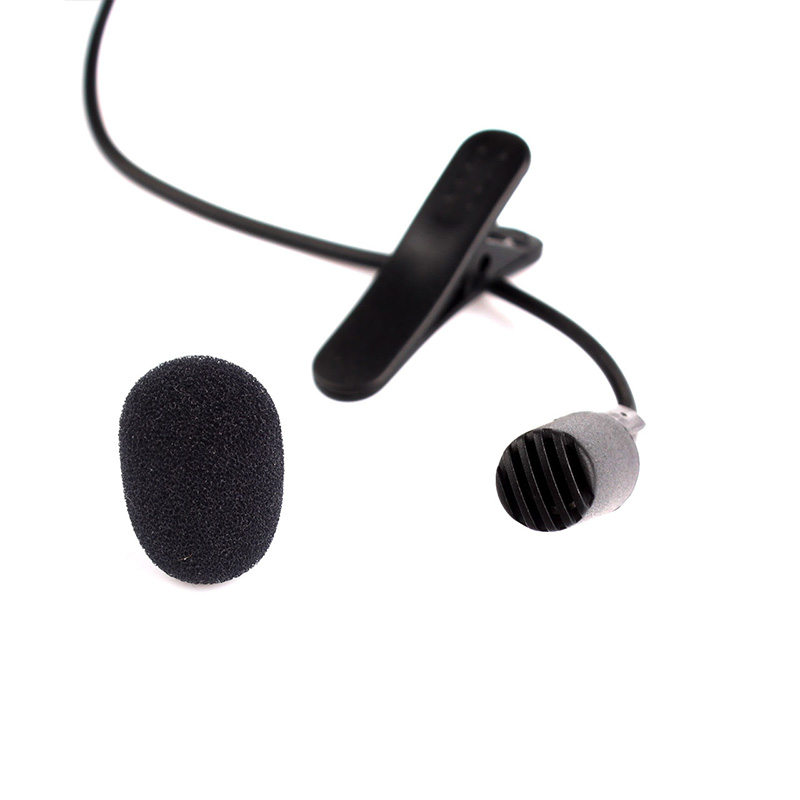 New 3.5mm Mini Studio Speech Mic Microphone w/ Clip for PC Desktop Notebook #14