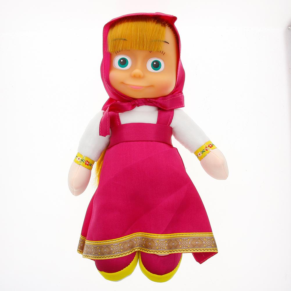 Hot Sale Masha Plush Dolls Very Cute Cartoon Stuffed Toy Best Children Christmas Birthday Gift