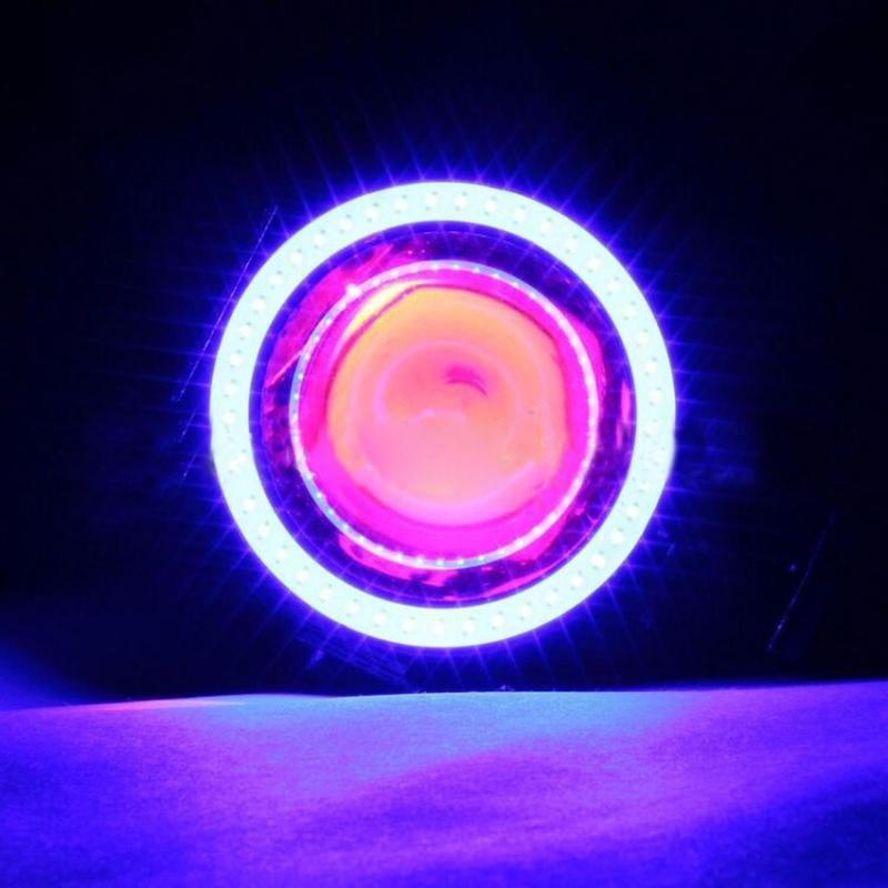 Devil Eye 12-80V CREE U7 Universal LED Car DRL Motorcycles Driving Headlights Fog Daytime Running Light Spotlight