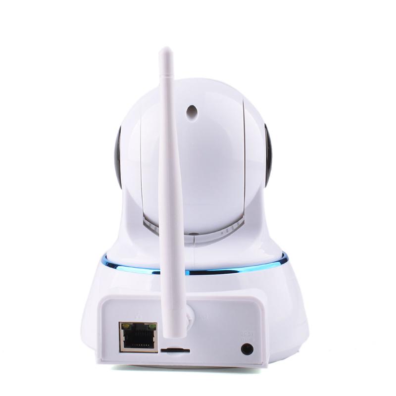 QF002 HD IP Camera 1MP Onvif WIFI Micro SD Home Night Vision Smartphone PTZ